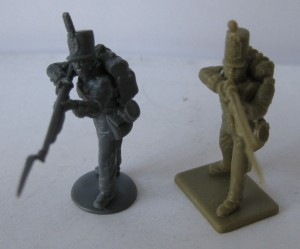 Two Plastic Soldiers