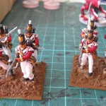 British Grenadiers (just waiting for a base drybrush and touch-ups)